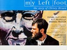 My Left Foot - British Movie Poster (xs thumbnail)