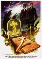 Night of the Living Dead - Spanish Movie Poster (xs thumbnail)