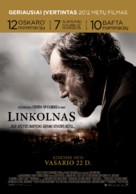 Lincoln - Lithuanian Movie Poster (xs thumbnail)