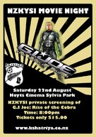 G.I. Joe: The Rise of Cobra - New Zealand Movie Poster (xs thumbnail)