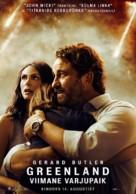 Greenland - Estonian Movie Poster (xs thumbnail)