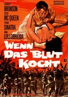 Never So Few - German Movie Poster (xs thumbnail)