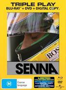 Senna - Australian Blu-Ray cover (xs thumbnail)
