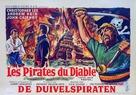 The Devil-Ship Pirates - Belgian Movie Poster (xs thumbnail)