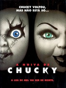 Bride of Chucky - Brazilian Movie Poster (xs thumbnail)