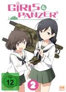 """Girls und Panzer"" - German DVD movie cover (xs thumbnail)"