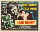 The Lost Moment - Movie Poster (xs thumbnail)