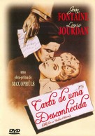 Letter from an Unknown Woman - Brazilian DVD cover (xs thumbnail)