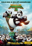 Kung Fu Panda 3 - Hungarian Movie Poster (xs thumbnail)