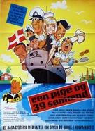 Een pige og 39 sømænd - Danish Movie Poster (xs thumbnail)