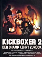 Kickboxer 2 - German Movie Poster (xs thumbnail)