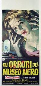 Horrors of the Black Museum - Italian Movie Poster (xs thumbnail)