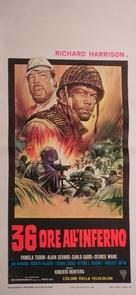 36 ore all'inferno - Italian Movie Poster (xs thumbnail)
