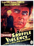 The Violent Men - French Movie Poster (xs thumbnail)