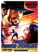 Uomo, l'orgoglio, la vendetta, L' - French Movie Poster (xs thumbnail)