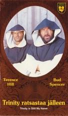 ...continuavano a chiamarlo Trinità - Finnish VHS cover (xs thumbnail)