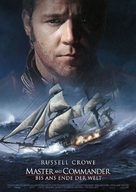 Master and Commander: The Far Side of the World - German Movie Poster (xs thumbnail)