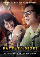 Battle of the Sexes - Dutch Movie Poster (xs thumbnail)
