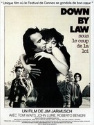 Down by Law - French Movie Poster (xs thumbnail)