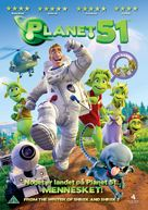 Planet 51 - Danish Movie Cover (xs thumbnail)
