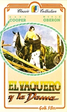 The Cowboy and the Lady - Argentinian VHS movie cover (xs thumbnail)