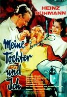 Meine Tochter und ich - German Movie Poster (xs thumbnail)