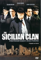 Le clan des Siciliens - Greek DVD cover (xs thumbnail)
