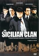 Le clan des Siciliens - Greek DVD movie cover (xs thumbnail)