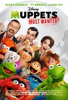 Muppets Most Wanted - Movie Poster (xs thumbnail)