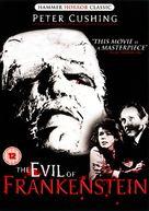 The Evil of Frankenstein - British DVD movie cover (xs thumbnail)
