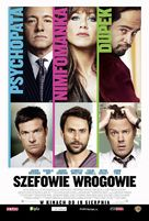 Horrible Bosses - Polish Movie Poster (xs thumbnail)