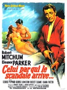 Home from the Hill - French Movie Poster (xs thumbnail)
