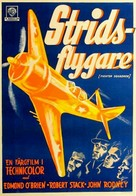 Fighter Squadron - Swedish Movie Poster (xs thumbnail)