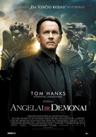 Angels & Demons - Lithuanian Movie Poster (xs thumbnail)