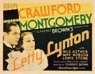 Letty Lynton - Movie Poster (xs thumbnail)
