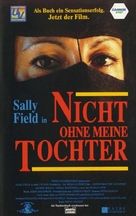 Not Without My Daughter - German VHS cover (xs thumbnail)