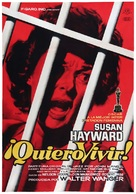 I Want to Live! - Spanish Movie Poster (xs thumbnail)