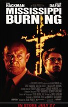 Mississippi Burning - Video release poster (xs thumbnail)