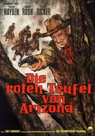 Flaming Feather - German Movie Poster (xs thumbnail)