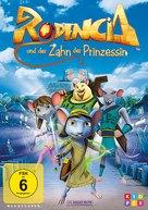 Rodencia y el Diente de la Princesa - German DVD cover (xs thumbnail)