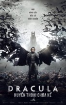 Dracula Untold - Vietnamese Movie Poster (xs thumbnail)