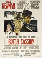 Butch Cassidy and the Sundance Kid - Italian Movie Poster (xs thumbnail)
