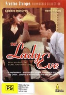 The Lady Eve - Australian DVD cover (xs thumbnail)