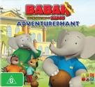 """Babar and the Adventures of Badou"" - Australian DVD cover (xs thumbnail)"