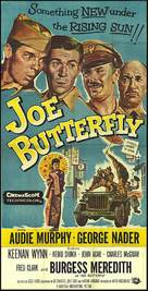 Joe Butterfly - Movie Poster (xs thumbnail)
