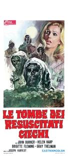 La noche del terror ciego - Italian Movie Poster (xs thumbnail)