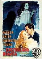 The Woman in White - Italian Movie Poster (xs thumbnail)
