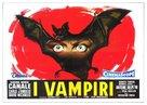 I vampiri - Italian Movie Poster (xs thumbnail)