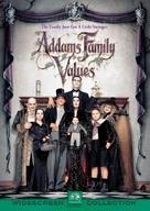 Addams Family Values - British DVD movie cover (xs thumbnail)