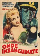 Johnny Angel - Italian Movie Poster (xs thumbnail)